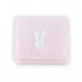 Baby Gi podloga za prematanje bunny roza