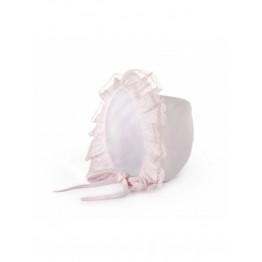 Baby Gi kapica s rozom čipkom