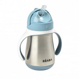 Beaba inox bočica 250ml blue
