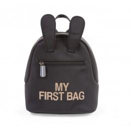 Childhome dječji ruksak MY FIRST BAG black