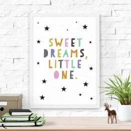 Poster Sweet Dreams 30x40