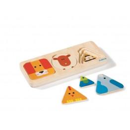 Djeco drvena igračka AnimaBasic