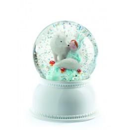 Snježna kugla/noćna lampa Lila&Pupi