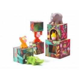 Kocke za slaganje-džungla