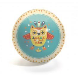 Dječja lopta Sova - 12 cm