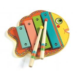 Djeco Drveni ksilofon Ribica