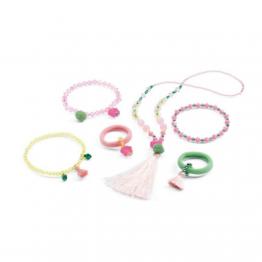 Djeco Dječji nakit - Pomponi i zvjezdice