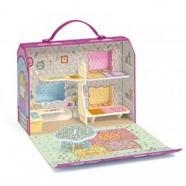 Tinyly kućica s lutkicom Blushka & Indie