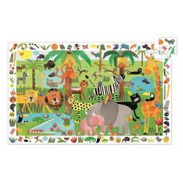 Djeco puzzle Džungla