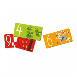 Djeco Puzzle duo - brojevi