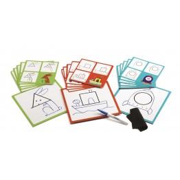 Djeco Crtanje korak po korak - Geo & Co