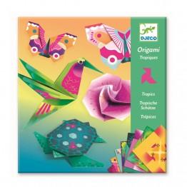 Djeco origami-tropske životinje
