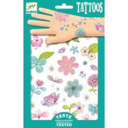 Djeco Tattoo naljepnice - Cvijeće