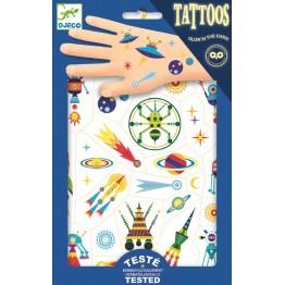 Djeco tattoo naljepnice - Svemir