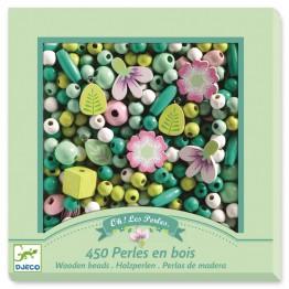 Djeco Drveni set za izradu nakita - Cvijeće