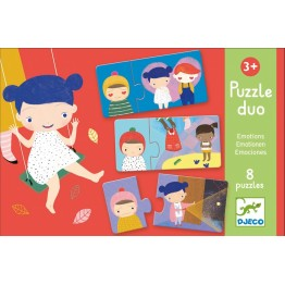 Puzzle duo - Emocije