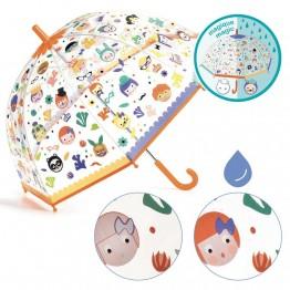Dječji kišobran - Lica