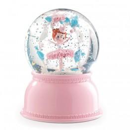 Snježna kugla/noćna lampa balerina