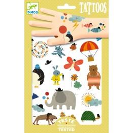 Djeco Tattoo naljepnice - Male stvari