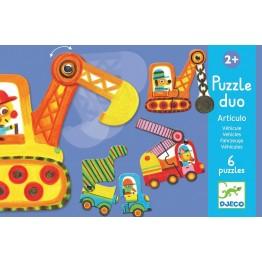 Puzzle duo - Vozila
