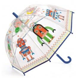 Dječji kišobran-roboti