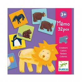 Djeco Memory - šarene životinjice