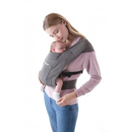 Ergobaby Embrace nosiljka - Heather Grey siva