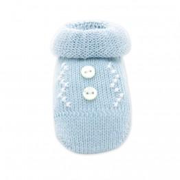 Čarapice za novorođenče plave
