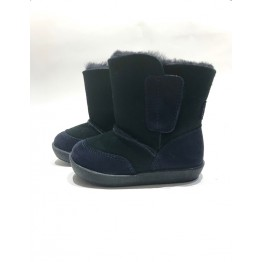 Falcotto čizme podstavljene krznom-tamnoplave