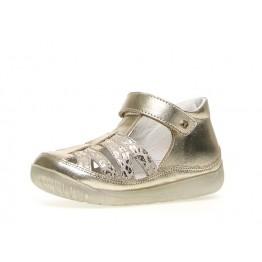 Falcotto sandale zlatne sa leopard uzorkom