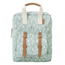 Fresk ruksak Kapljice kiše - plavi