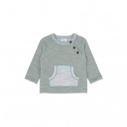 Hust baby zeleni pulover