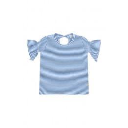 Claire Kids prugasta majica - plavo bijela