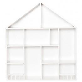 Jabadabado Polica kuća bijela mala