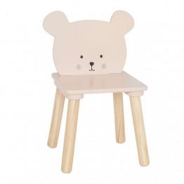 JaBaDaBaDo drvena stolica medo