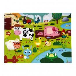 Janod dodirne puzzle -farma
