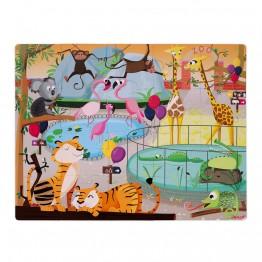 Janod dodirne puzzle -zoo