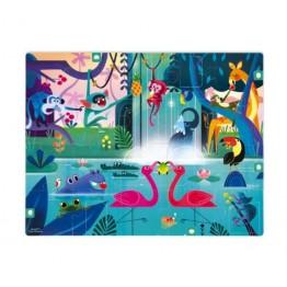 Janod puzzle iznenađenja - džungla