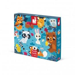 Janod dodirne puzzle - Šumske Životinje