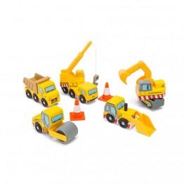 Set građevinskih vozila