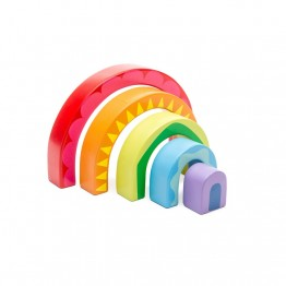 Le Toy Van Drvena igračka dugine boje