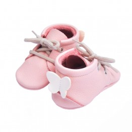 Cipele za bebe Little Lambo Booties Blush/ Milk