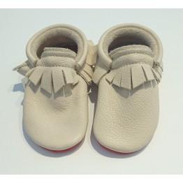 Cipele za bebe Little Lambo Fringe Nude/Red