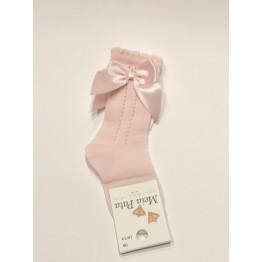 Meia Pata čarape dokoljenke-roze