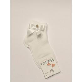 Meia Pata čarape -bijele