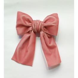 Meia Pata mašna za kosu - Roza velika
