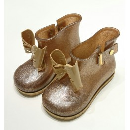 Mini Melissa Sugar Rain - Brown Glitter