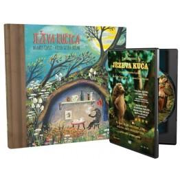 Ježeva kućica - slikovnica + DVD