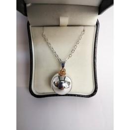Bola ogrlica za trudnice-rose gold zvijezda