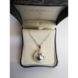 Bola ogrlica za trudnice-zlatna zvijezda